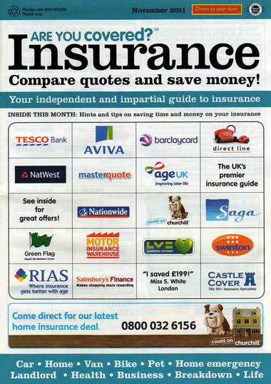 Junk mail from Are You Covered?.