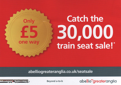 Junk mail from Abellio.