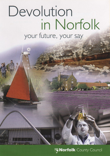 Junk mail from Norfolk County Council.