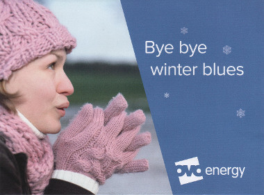 Junk mail from Ovo Energy.