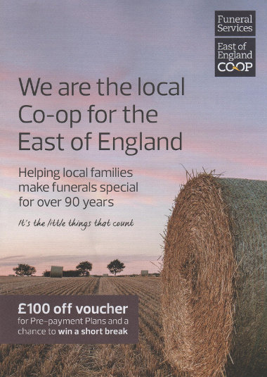 Junk mail from the Co-op.