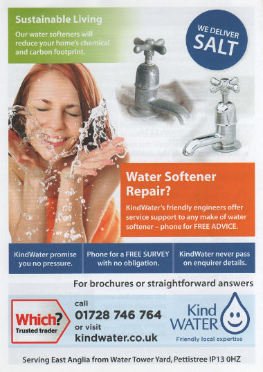 Junk mail from Kind Water.