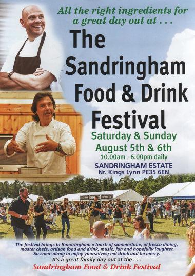 Junk mail from Sandringham Festival.