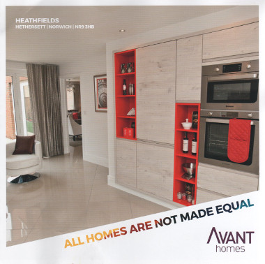 Junk mail from Avant Homes.