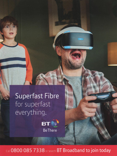 Junk mail from BT.