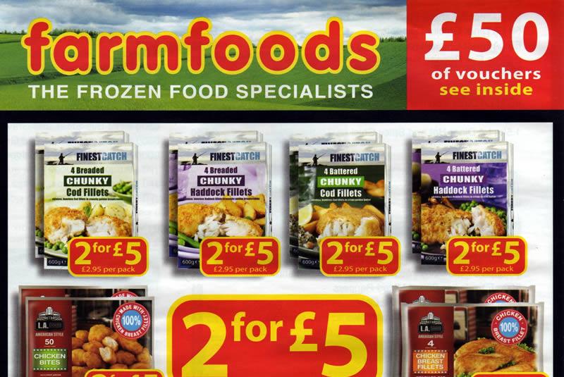Farmfoods Food List
